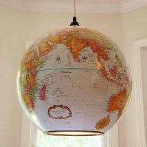 Diy Map Crafts 11 214x214 - Amazing DIY Map Crafts Ideas for everyone