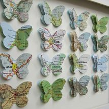 Diy Map Crafts 15 214x214 - Amazing DIY Map Crafts Ideas for everyone