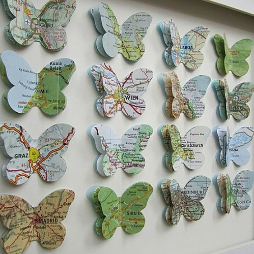 Diy Map Crafts 15 - Amazing DIY Map Crafts Ideas For Everyone