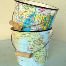 Diy Map Crafts 16 214x214 - Amazing DIY Map Crafts Ideas for everyone