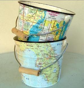 Diy Map Crafts 16 - Amazing DIY Map Crafts Ideas For Everyone