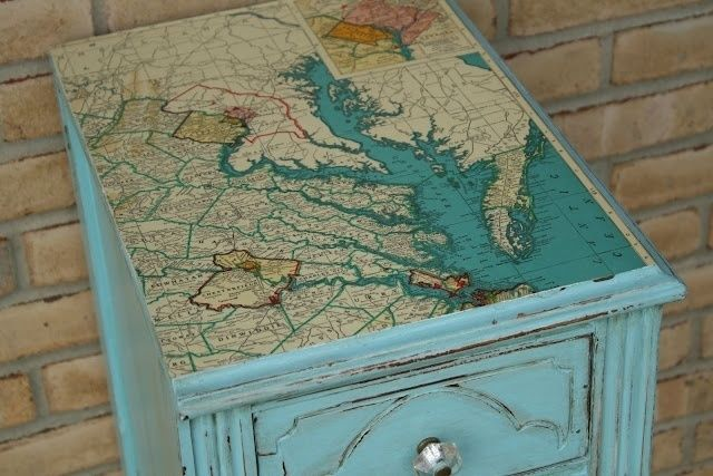 Diy Map Crafts 17 - Amazing DIY Map Crafts Ideas For Everyone