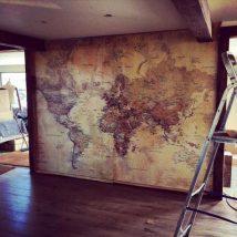 Diy Map Crafts 21 214x214 - Amazing DIY Map Crafts Ideas for everyone