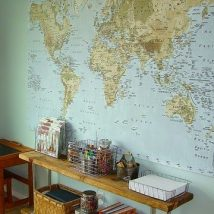 Diy Map Crafts 23 214x214 - Amazing DIY Map Crafts Ideas for everyone