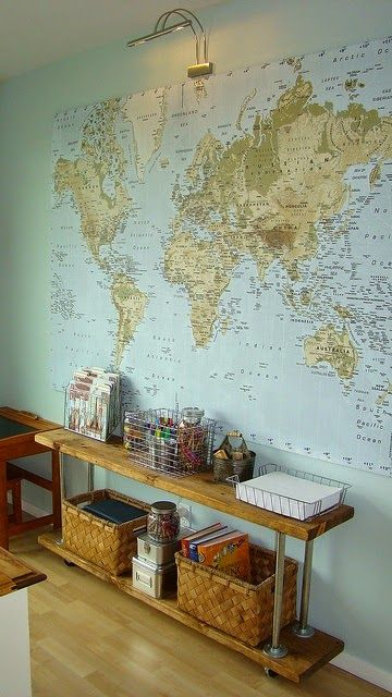 Diy Map Crafts 23 - Amazing DIY Map Crafts Ideas For Everyone