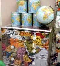 Diy Map Crafts 24 194x214 - Amazing DIY Map Crafts Ideas for everyone