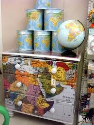 Diy Map Crafts 24 - Amazing DIY Map Crafts Ideas For Everyone