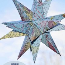 Diy Map Crafts 25 214x214 - Amazing DIY Map Crafts Ideas for everyone