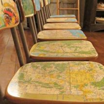 Diy Map Crafts 27 214x214 - Amazing DIY Map Crafts Ideas for everyone