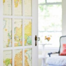 Diy Map Crafts 28 214x214 - Amazing DIY Map Crafts Ideas for everyone