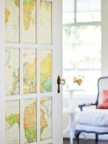 Diy Map Crafts 28 - Amazing DIY Map Crafts Ideas For Everyone