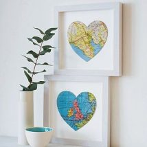 Diy Map Crafts 32 214x214 - Amazing DIY Map Crafts Ideas for everyone