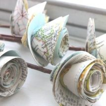 Diy Map Crafts 38 214x214 - Amazing DIY Map Crafts Ideas for everyone