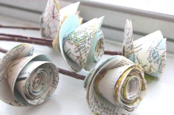 Diy Map Crafts 38 - Amazing DIY Map Crafts Ideas For Everyone
