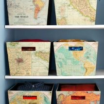 Diy Map Crafts 41 214x214 - Amazing DIY Map Crafts Ideas for everyone