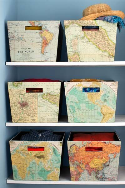 Diy Map Crafts 41 - Amazing DIY Map Crafts Ideas For Everyone