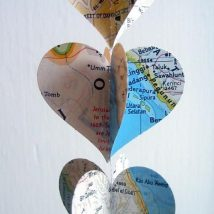 Diy Map Crafts 45 214x214 - Amazing DIY Map Crafts Ideas for everyone