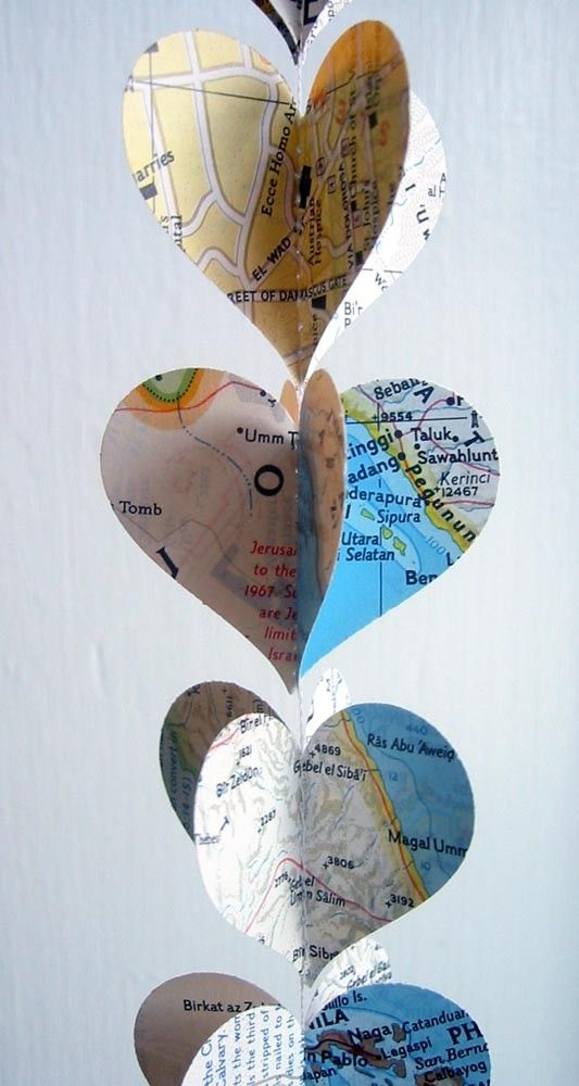 Diy Map Crafts 45 - Amazing DIY Map Crafts Ideas For Everyone