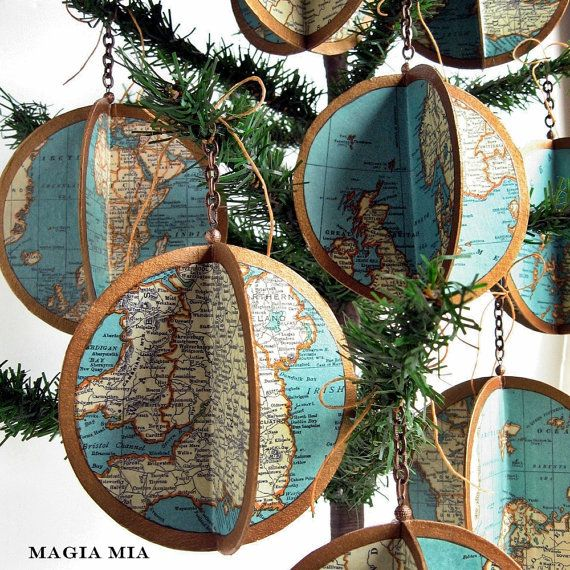 Diy Map Crafts 46 - Amazing DIY Map Crafts Ideas For Everyone