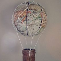 Diy Map Crafts 47 214x214 - Amazing DIY Map Crafts Ideas for everyone