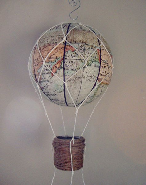 Diy Map Crafts 47 - Amazing DIY Map Crafts Ideas For Everyone