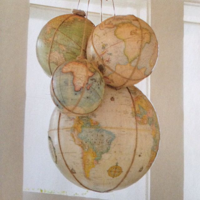 Diy Map Crafts 48 - Amazing DIY Map Crafts Ideas For Everyone