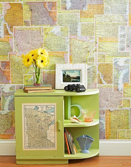 Diy Map Crafts 5 - Amazing DIY Map Crafts Ideas For Everyone