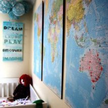 Diy Map Crafts 6 214x214 - Amazing DIY Map Crafts Ideas for everyone