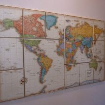 Diy Map Crafts 7 214x214 - Amazing DIY Map Crafts Ideas for everyone