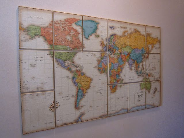 Diy Map Crafts 7 - Amazing DIY Map Crafts Ideas For Everyone