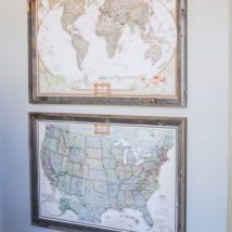 Diy Map Crafts 8 214x214 - Amazing DIY Map Crafts Ideas for everyone