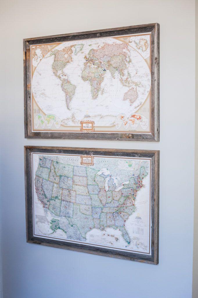 Diy Map Crafts 8 - Amazing DIY Map Crafts Ideas For Everyone