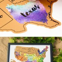 Diy Map Crafts 9 214x214 - Amazing DIY Map Crafts Ideas for everyone