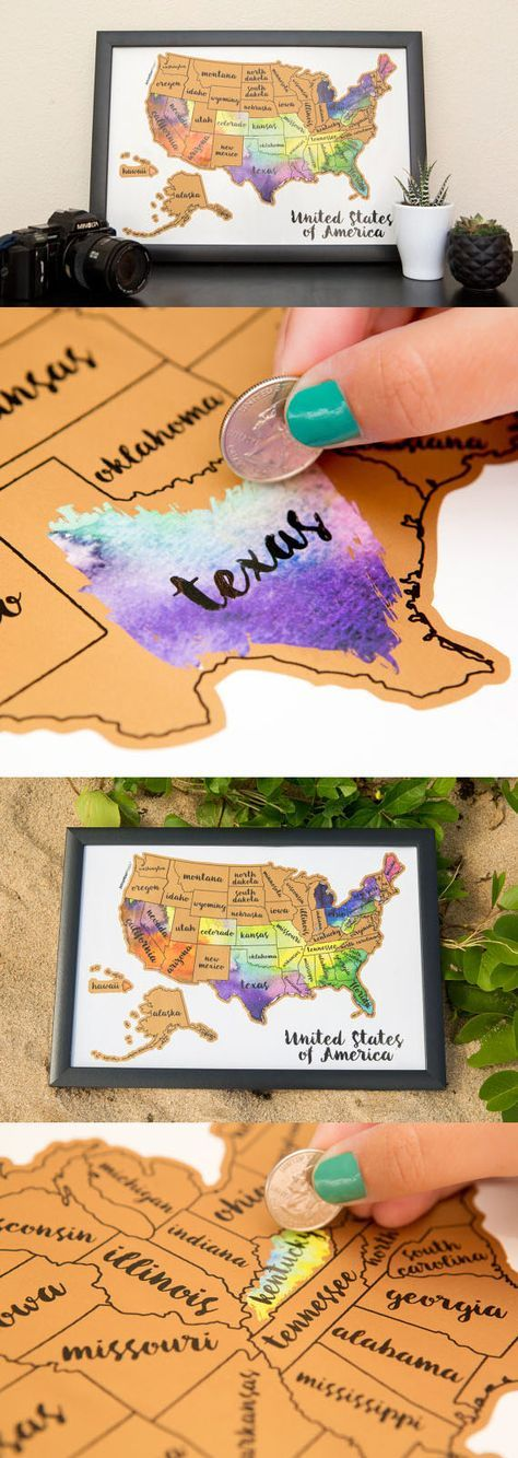 Diy Map Crafts 9 - Amazing DIY Map Crafts Ideas For Everyone