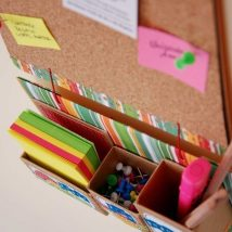 Diy Memo Board 1 214x214 - Coolest DIY Memo Board Ideas