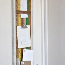 Diy Memo Board 11 214x214 - Coolest DIY Memo Board Ideas