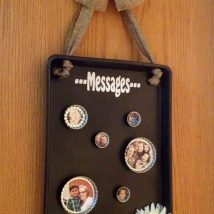 Diy Memo Board 14 214x214 - Coolest DIY Memo Board Ideas