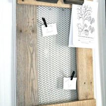 Diy Memo Board 15 214x214 - Coolest DIY Memo Board Ideas