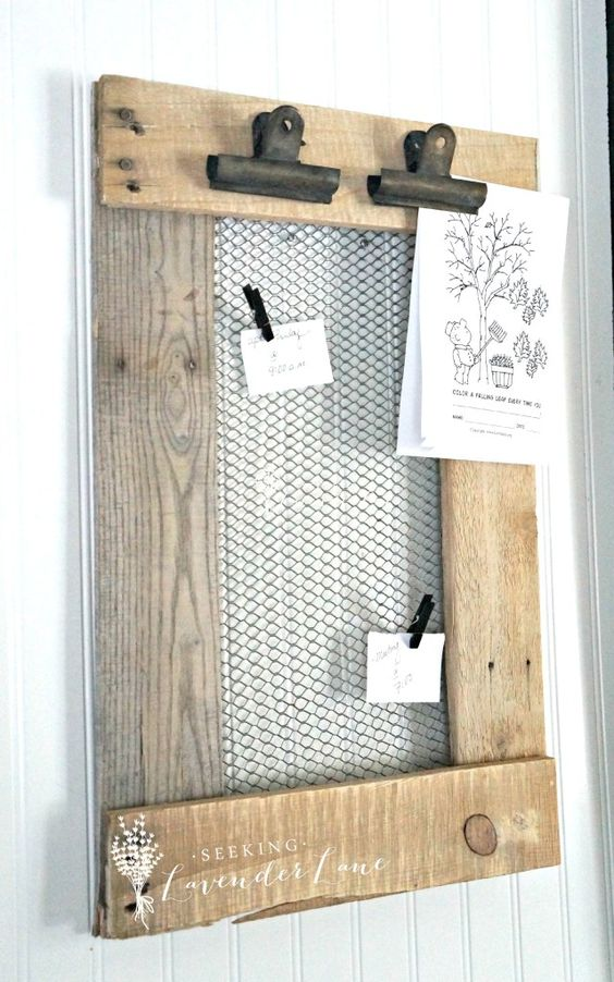Diy Memo Board 15 - Coolest DIY Memo Board Ideas