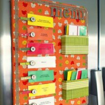 Diy Memo Board 19 214x214 - Coolest DIY Memo Board Ideas
