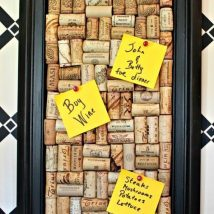 Diy Memo Board 2 214x214 - Coolest DIY Memo Board Ideas
