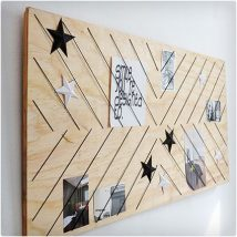 Diy Memo Board 20 214x214 - Coolest DIY Memo Board Ideas