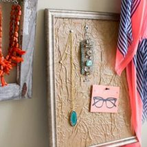 Diy Memo Board 22 214x214 - Coolest DIY Memo Board Ideas