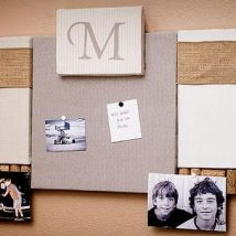 Diy Memo Board 28 214x214 - Coolest DIY Memo Board Ideas