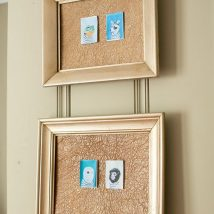 Diy Memo Board 29 214x214 - Coolest DIY Memo Board Ideas
