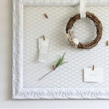 Diy Memo Board 34 214x214 - Coolest DIY Memo Board Ideas