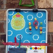 Diy Memo Board 36 214x214 - Coolest DIY Memo Board Ideas