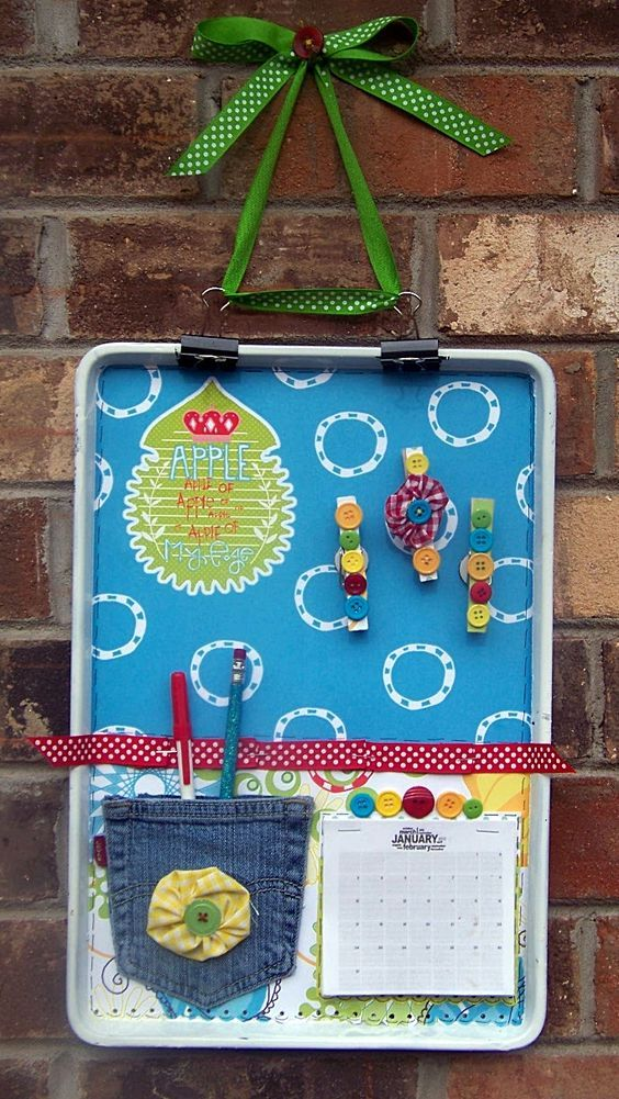Diy Memo Board 36 - Coolest DIY Memo Board Ideas