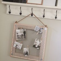Diy Memo Board 4 214x214 - Coolest DIY Memo Board Ideas