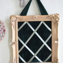 Diy Memo Board 41 214x214 - Coolest DIY Memo Board Ideas